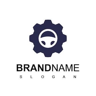 Logo serwisu samochodowego