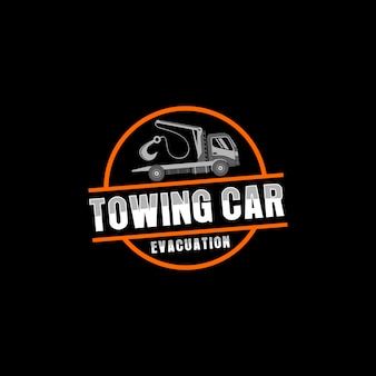 Logo serwisu samochodu holowniczego