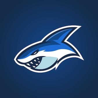Logo Sharks Esports Premium Wektorów