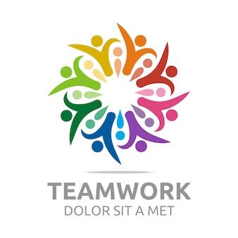 Logo sieci społecznej