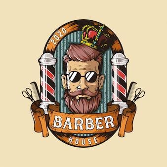 Logo sklepu fryzjerskiego