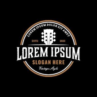 Logo sklepu vintage gitara