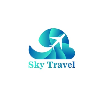 Logo sky travel