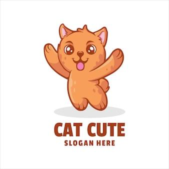 Logo słodkiego kota