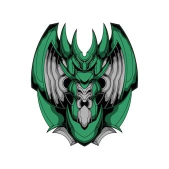 Logo smoka żelaza