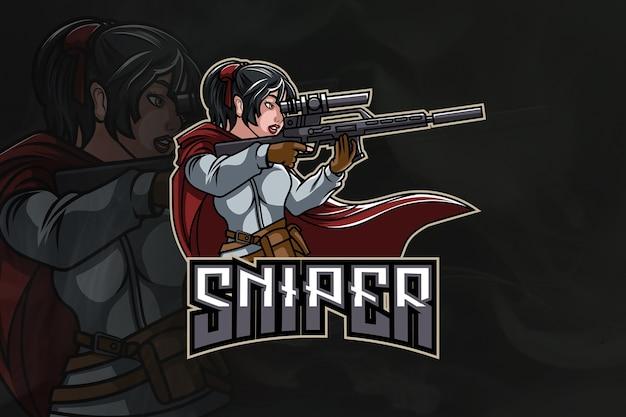 Logo sniper army esport