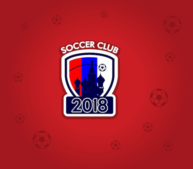 Logo soccer club 2018