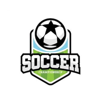 Logo Soccer Sport Premium Wektorów