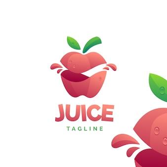 Logo soku jabłkowego