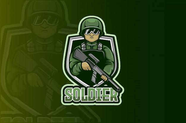 Logo soldier esport