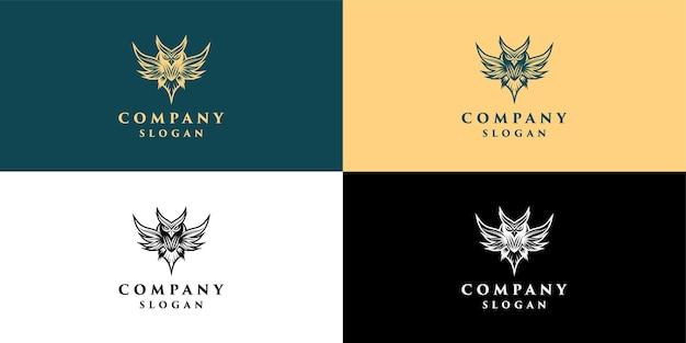 Logo sowy do edukacji i dekoracji firmy