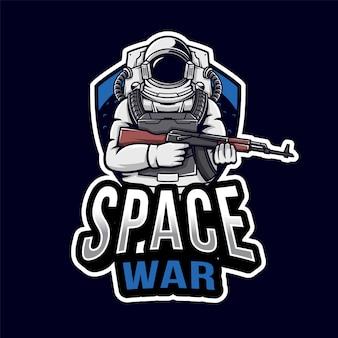 Logo space war esport
