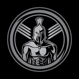 Logo spartan warrior sports fitness