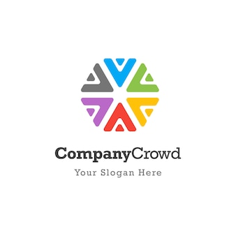 Logo społeczności społecznej zespołu