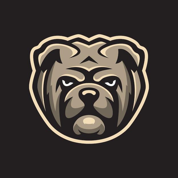 Logo sportowe bulldog