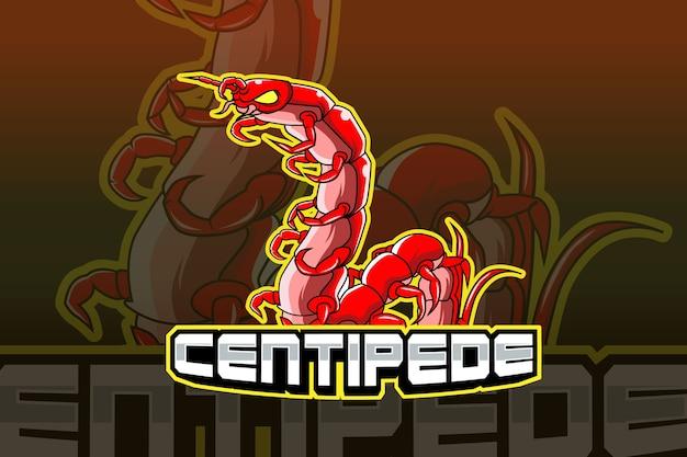 Logo sportowe centipede e