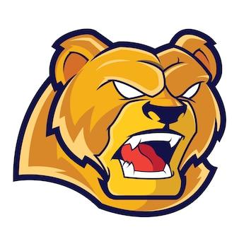 Logo sportowe grizzlies