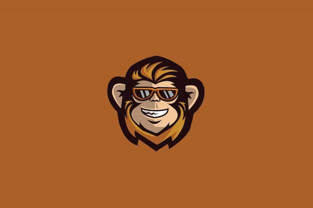Logo sportowe monkey e.