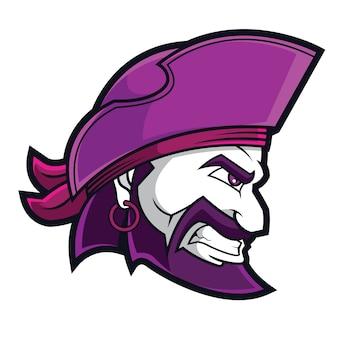 Logo sportowe piratów