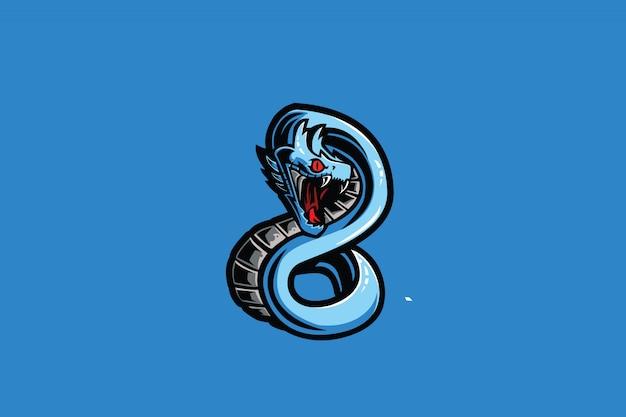 Logo sportowe sea dragon e.