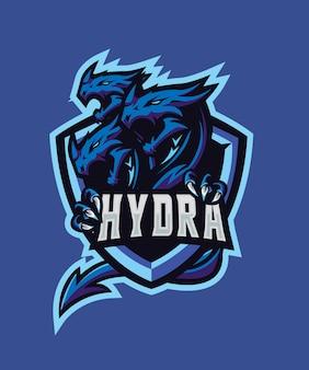 Logo sportowe triple hydra e.