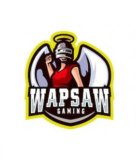 Logo sportowe wapsaw gaming