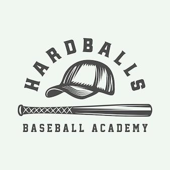 Logo sportu baseballowego
