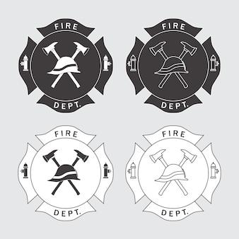 Logo straży pożarnej