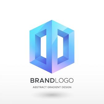 Logo streszczenie gradientu
