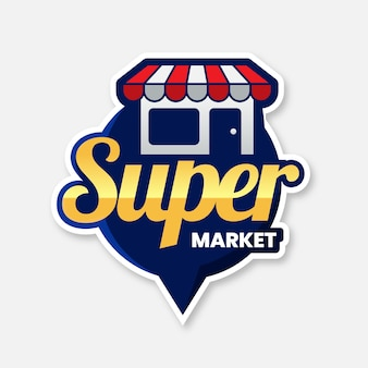 Logo supermarketu