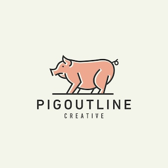 Logo świni