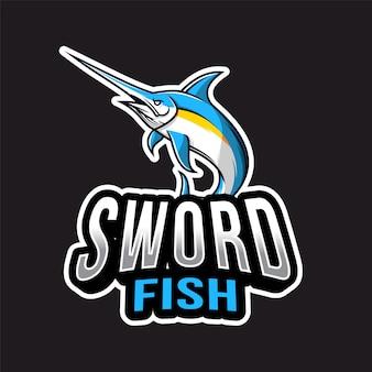 Logo swordfish esport