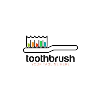 Logo szczoteczki do zębów