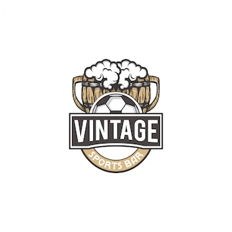 Logo szklanki do piwa i butelki