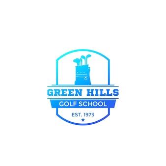 Logo szkoły golfa