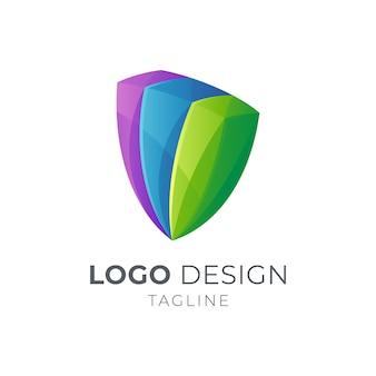 Logo szmaragdowej tarczy