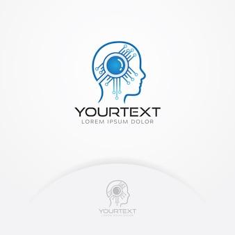 Logo sztucznej inteligencji