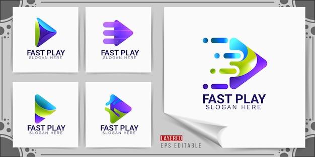 Logo szybkiego odtwarzania