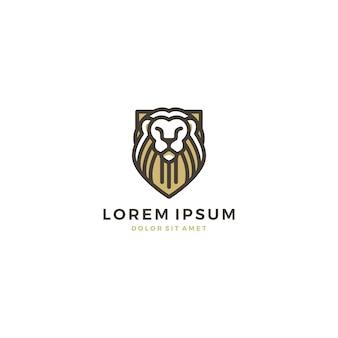 Logo tarczy lew
