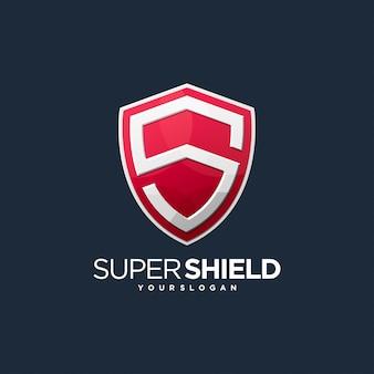 Logo tarczy s bezpieczne zabezpieczenie