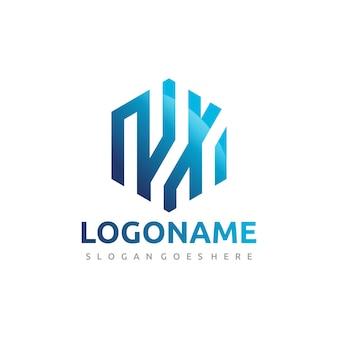 Logo technologii heksagonalnej