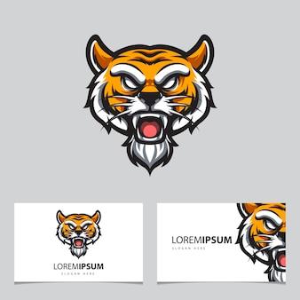 Logo tiger e. sport