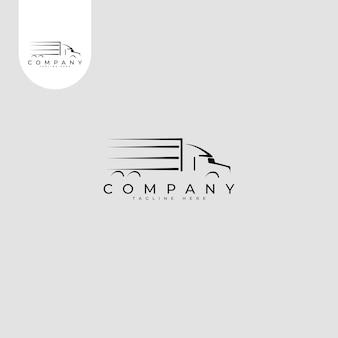 Logo transportu ciężarówek