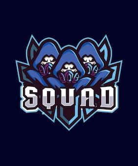 Logo triple squad esports