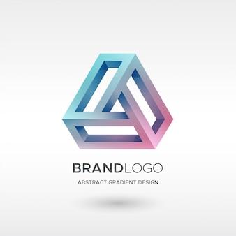 Logo trójkąta gradientu