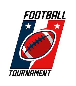Logo turnieju futbolu amerykańskiego