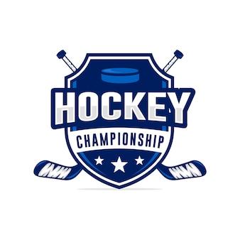 Logo turnieju hokejowego