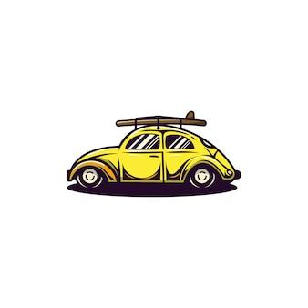 Logo v w chrząszcz