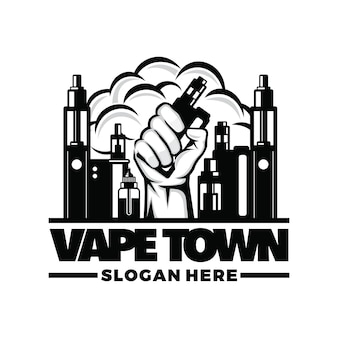 Logo vape, vapor