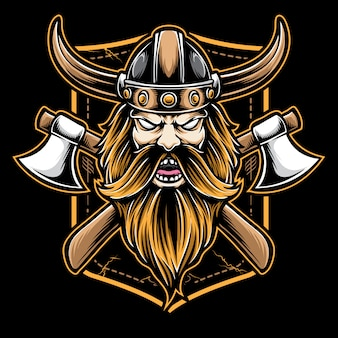 Logo viking axe